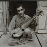 Linda Connor: Blind Musician, Kashmir, India, 1983. 8x10 in. toned contact print. Estimated value: $2,000.